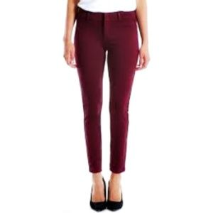 Kut From the Kloth Siena Maroon Cropped Pants – 6